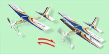 2 in 1 Rubber Band Powered Plane